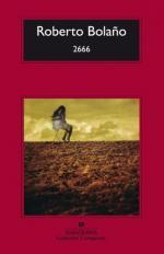 Portada del libro 2666