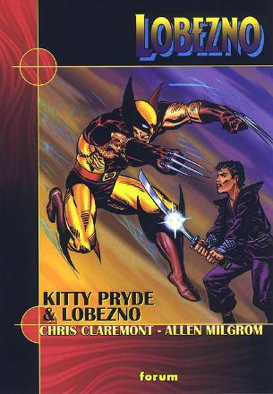 Portada del libro Kitty Pride y Lobezno