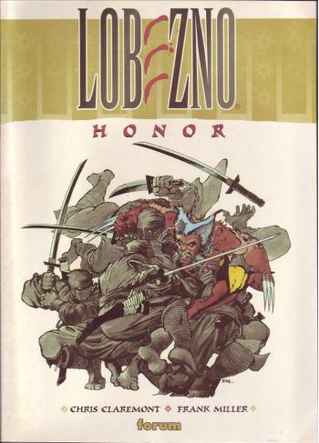 Portada del libro Lobezno: Honor