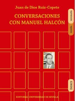 Portada del libro Conversaciones con Manuel Halcón