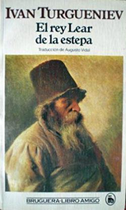 Portada del libro El rey Lear de la estepa