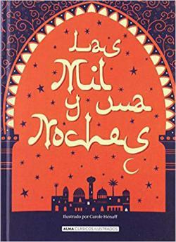 Portada del libro Las mil y una noche (Ilustrado)