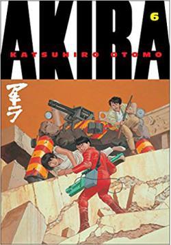 Portada del libro Akira - Volumen 6