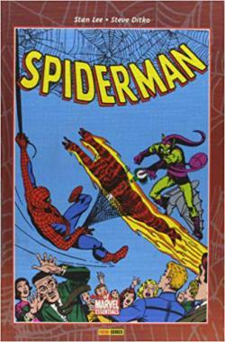 Portada del libro Spiderman de Stan Lee y Steve Ditko  II