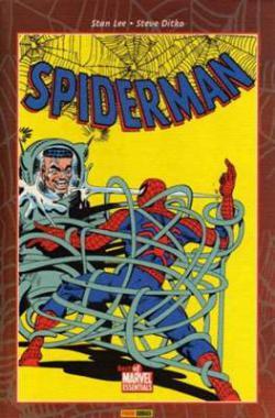 Portada del libro Spiderman de Stan Lee y Steve Ditko  III