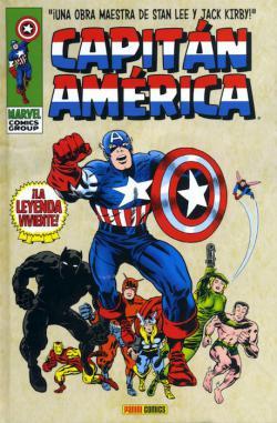 Portada del libro Capitán América 01: ¡La leyenda viviente!