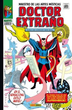 Portada del libro Doctor Extraño 01: Maestro de las artes místicas
