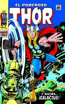 Portada del libro El poderoso Thor 04: Y ahora... ¡Galactus!