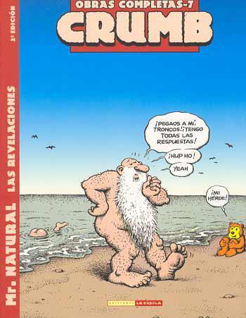 Portada del libro Robert Crumb Obras Completas 7: Mr. Natural, las revelaciones