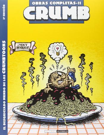 Portada del libro Robert Crumb Obras Completas 11: El desquiciado mundo de los Crumbtoons