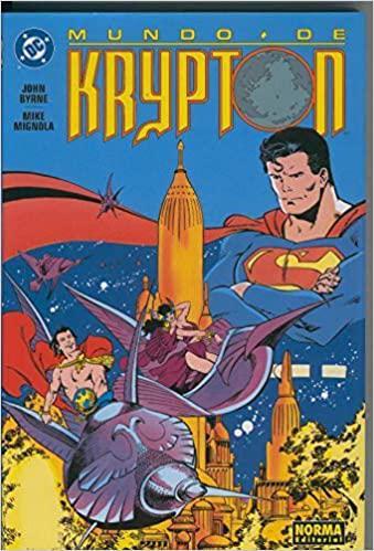 Portada del libro Superman: Mundo de Krypton
