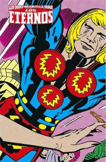Portada del libro Marvel Limited Edition: Los Eternos de Jack Kirby