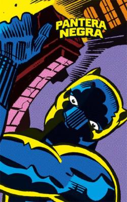 Portada del libro Marvel Limited Edition: Pantera Negra de Jack Kirby
