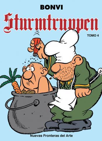 Portada del libro Sturmtruppen Tomo 4