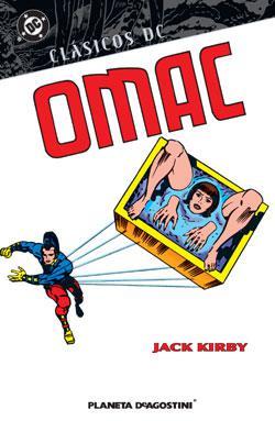 Portada del libro Clásicos DC: OMAC de Jack Kirby
