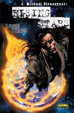 Portada del libro Rising Stars Nº 03: Fuego y ceniza