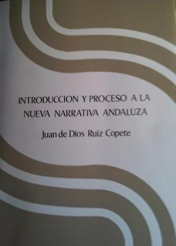 Portada del libro Introducción y proceso a la nueva narrativa andaluza