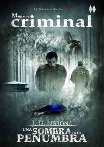 Portada del libro Una sombra en la penumbra (Magazine criminal 2)