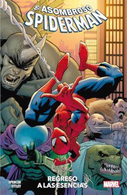 Portada del libro El asombroso Spiderman vol. 01: Regreso a las esencias