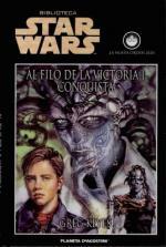 Portada del libro Al filo de la victoria I: Conquista (La nueva orden Jedi 7)