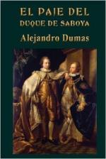 Portada del libro El paje del duque de Saboya