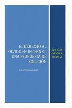 Portada del libro El Derecho al Olvido en Internet: Del caso Google al Big Data