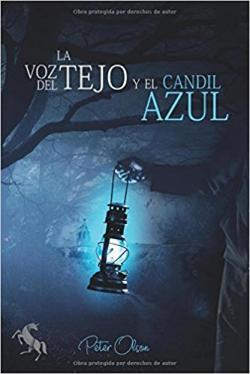 Portada del libro La voz del tejo y el candil azul