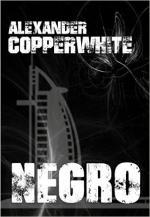 Portada del libro Negro (Los casos de Francisco Valiente Polillas 1)
