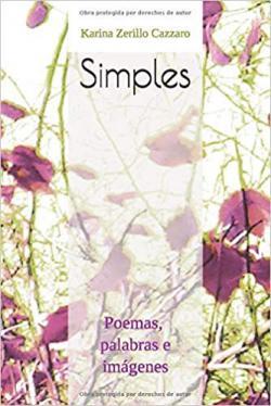 Portada del libro Simples: Poemas, palabras e imágenes.