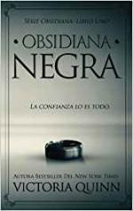 Portada del libro Obsidiana negra
