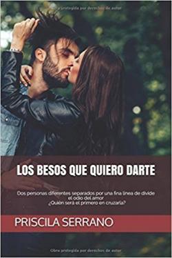 Portada del libro Los besos que quiero darte
