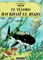 Portada del libro El tesoro de Rackam El Rojo. Las aventuras de Tintín
