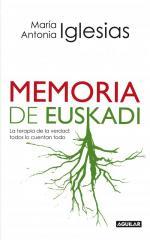 Portada del libro Memoria de Euskadi