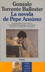 Portada del libro La novela de Pepe Ansurez