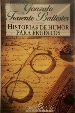 Portada del libro Historias de humor para eruditos