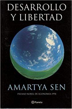 Portada del libro Desarrollo y libertad