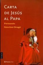 Portada del libro Carta de Jesús al Papa