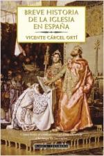 Portada del libro Breve historia de la iglesia en España