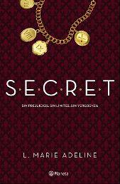 Portada del libro S.E.C.R.E.T. (Secret)