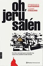 Portada del libro Oh, Jerusalén