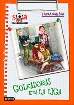 Portada del libro Sara y las goleadoras 3: Goleadoras en la liga
