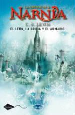 Portada del libro El león, la bruja y el armario (Las crónicas de Narnia 2)