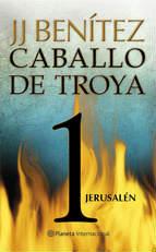 Portada del libro Jerusalén. Caballo de Troya 1