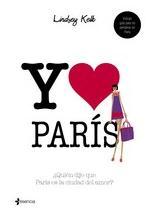 Portada del libro Yo love París
