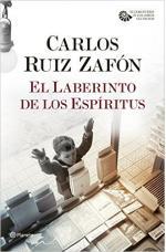 Portada del libro El laberinto de los espíritus