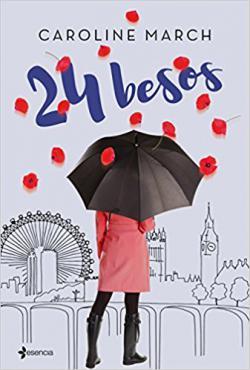 Portada del libro 24 besos
