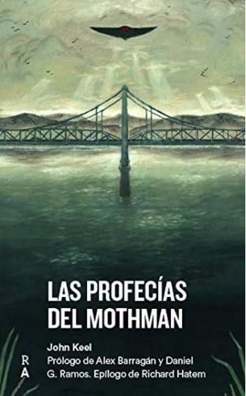 Portada del libro Las profecías del Mothman