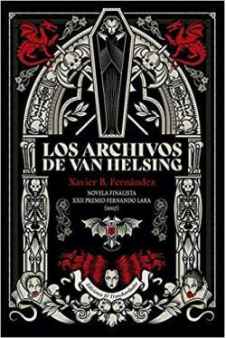 Portada del libro Los archivos de Van Helsing