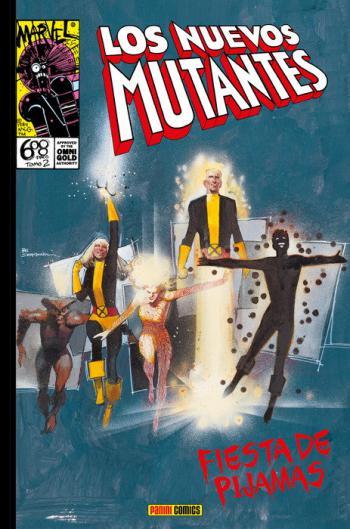 Portada del libro Los Nuevos Mutantes: Fiesta de pijamas