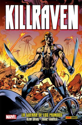 Portada del libro Killraven: La guerra de los mundos
